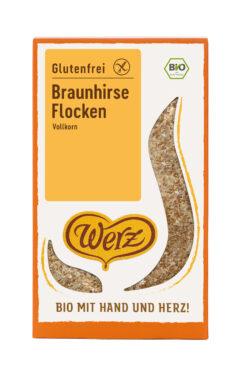 Naturkornmühle Werz Braunhirse Flocken, Vollkorn, glutenfrei 6x250g