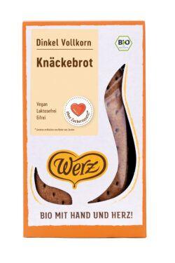 Naturkornmühle Werz Dinkel Knäckebrot, Vollkorn 8x150g