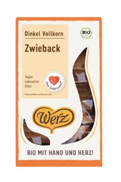 Naturkornmühle Werz Dinkel Zwieback, Vollkorn 8x175g