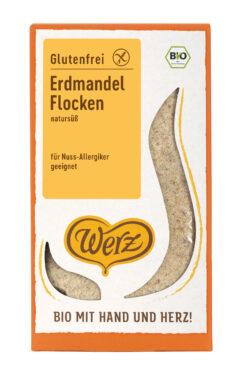 Naturkornmühle Werz Erdmandel Flocken, glutenfrei 6x250g
