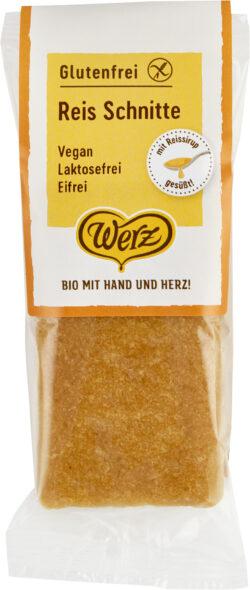 Naturkornmühle Werz Reis Schnitte, glutenfrei 12x60g