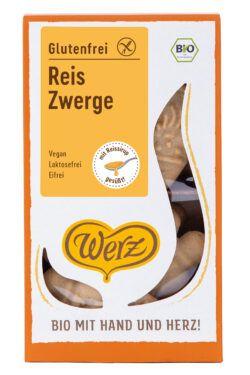 Naturkornmühle Werz Reis Zwerge, Vollkornkekse, glutenfrei 4x125g