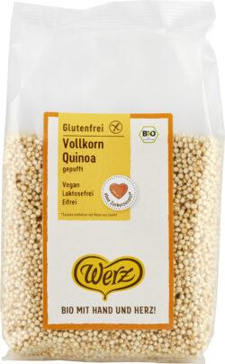 Naturkornmühle Werz Vollkorn Quinoa gepufft, glutenfrei 10x125g
