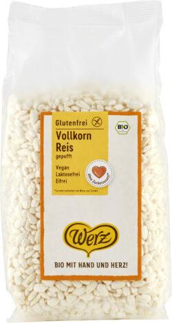 Naturkornmühle Werz Vollkorn Reis gepufft, glutenfrei 10x125g