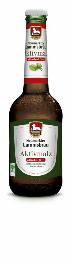 Neumarkter Lammsbräu Lammsbräu Aktivmalz Alkoholfrei (Bio) 0,33l