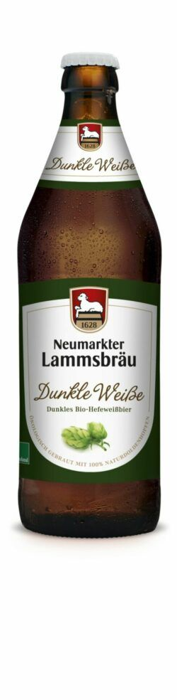 Neumarkter Lammsbräu Lammsbräu Dunkle Weiße (Bio) 0,5l
