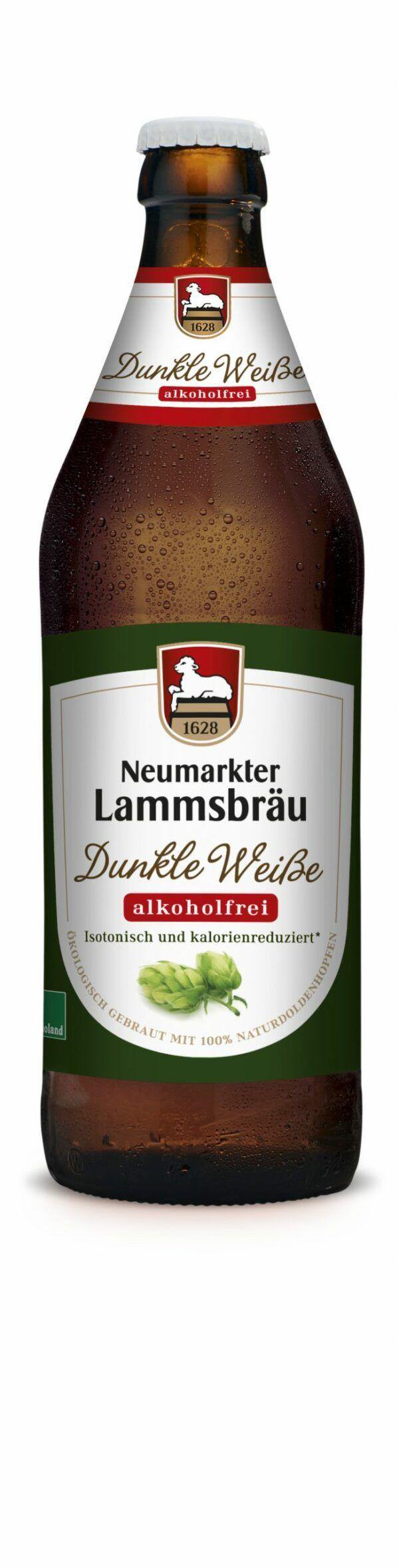 Neumarkter Lammsbräu Lammsbräu Dunkle Weiße alk.frei (Bio) 0,5l