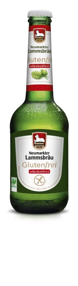 Neumarkter Lammsbräu Lammsbräu Glutenfrei Alkoholfrei (Bio) 10x0,33l