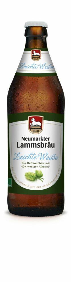 Neumarkter Lammsbräu Lammsbräu Leichte Weiße (Bio) 10x0,5l