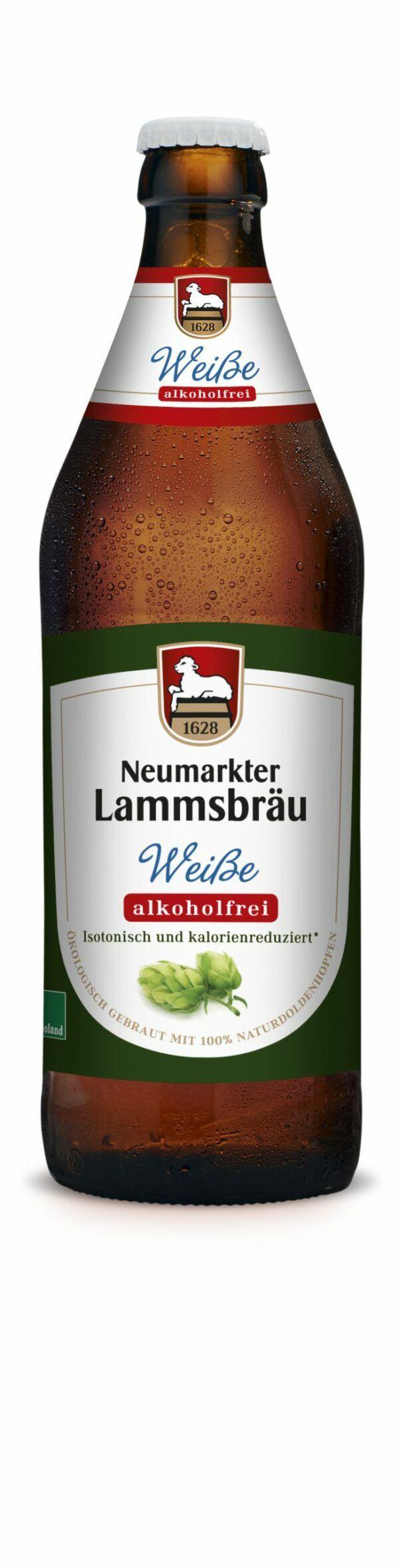 Neumarkter Lammsbräu Lammsbräu Weiße Alkoholfrei (Bio) 0,5l