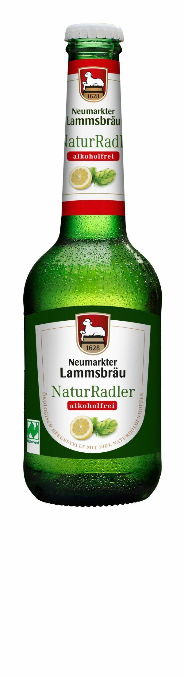 Neumarkter Lammsbräu Lammsbräu Radler Alkoholfrei (Bio) 10x0,33l