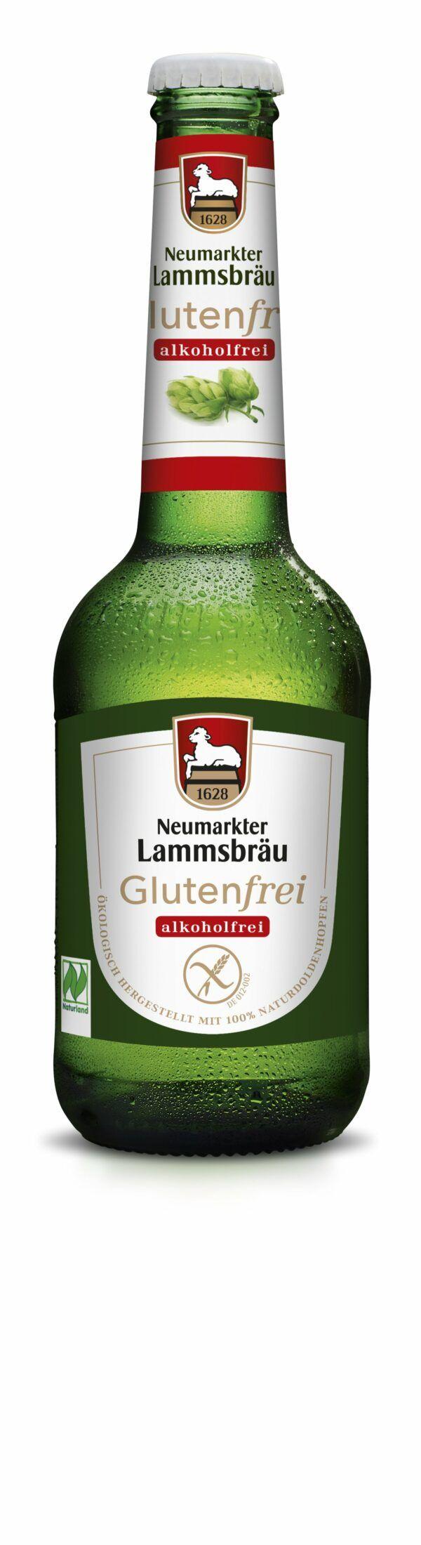 Neumarkter Lammsbräu Lammsbräu Glutenfrei Alkoholfrei (Bio) 0,33l