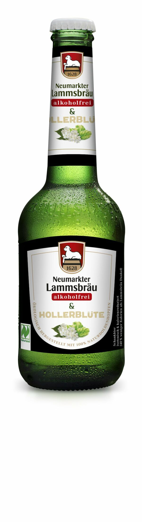 Neumarkter Lammsbräu Lammsbräu Alkoholfrei & Hollerblüte (Bio) 0,33l