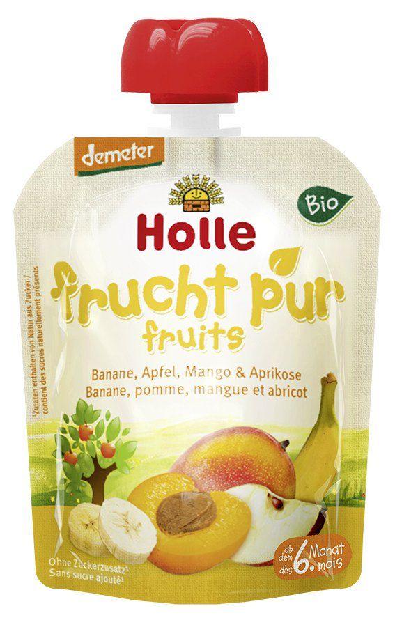 Holle Pouchy Banane, Apfel, Mango & Aprikose 12x90g