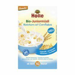 Holle Bio-Juniormüsli Mehrkorn mit Cornflakes 8x250g