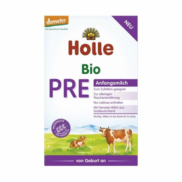 Holle Pre-Anfangsmilch 6x400g
