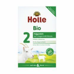 Holle Bio-Folgemilch 2 aus Ziegenmilch 4x400g