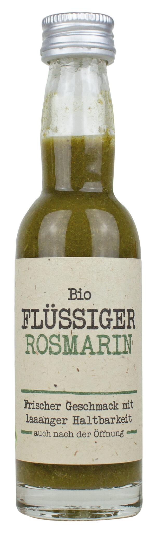 Northern Greens Bio Flüssiger Rosmarin 40 ml, die neue Art Dein Essen zu würzen 12x40ml