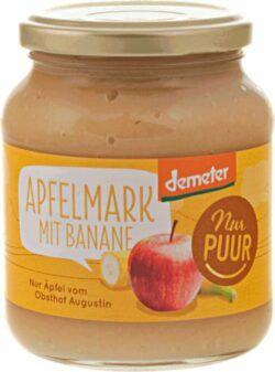 Nur Puur Apfelmark mit Banane, aus Augustin Äpfeln 6x360g