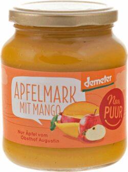 Nur Puur Apfelmark mit Mango, aus Augustin Äpfeln 6x360g