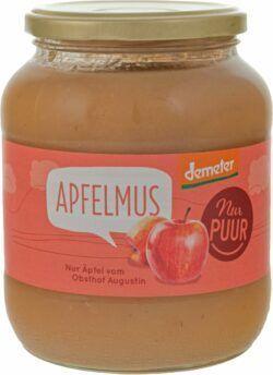 Nur Puur Apfelmus, aus Augustin Äpfeln 700g