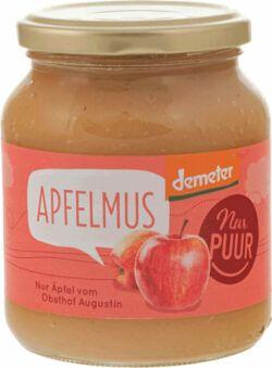 Nur Puur Apfelmus, aus Augustin Äpfeln 360g