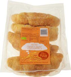 Nur Puur Butter Croissant, 4 Stück 6x200g