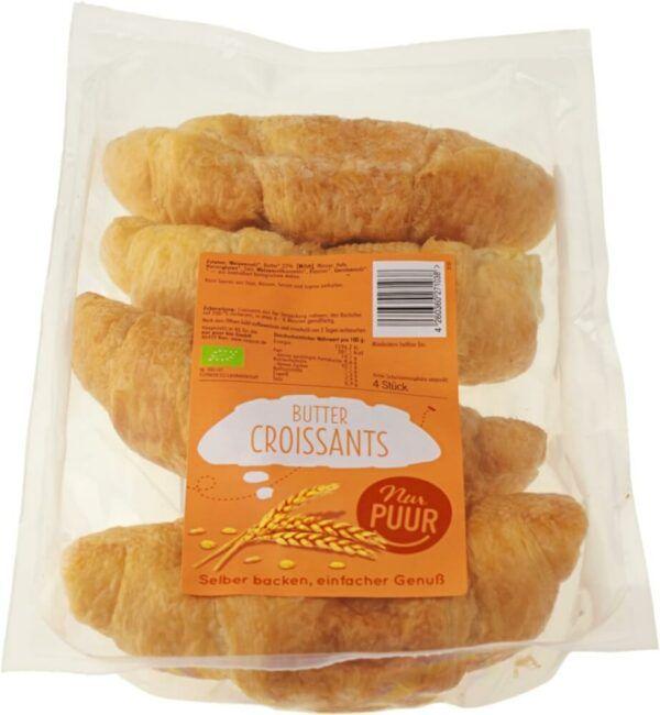 Nur Puur Butter Croissant, 6 x 4 Stück (6 x 200g)