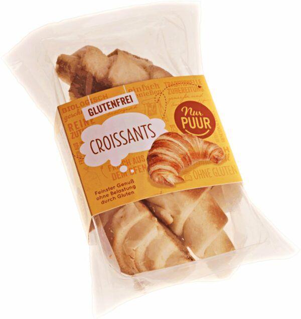 Nur Puur Croissants, 6 x 3 Stück (6x170g)