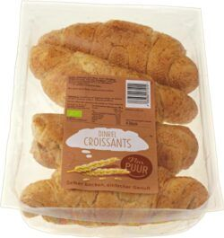Nur Puur Dinkel Croissant, 4 Stück 6x200g