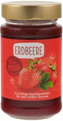 Nur Puur Erdbeere Fruchtaufstrich 6x250g
