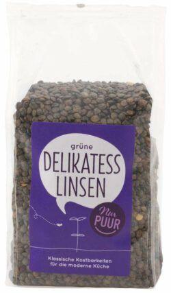 Nur Puur Grüne Delikatess Linsen (du Puy) 6x500g
