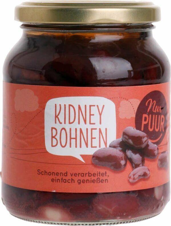Nur Puur Kidney Bohnen 6x350g