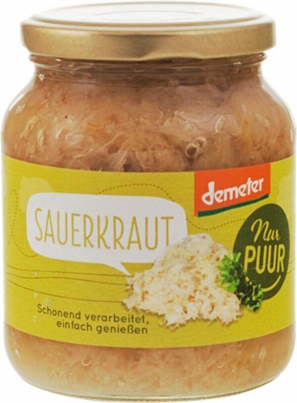 Nur Puur Sauerkraut Demeter 6x350g