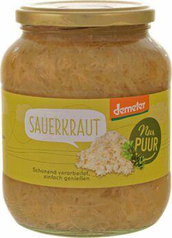 Nur Puur Sauerkraut Demeter 6x680g