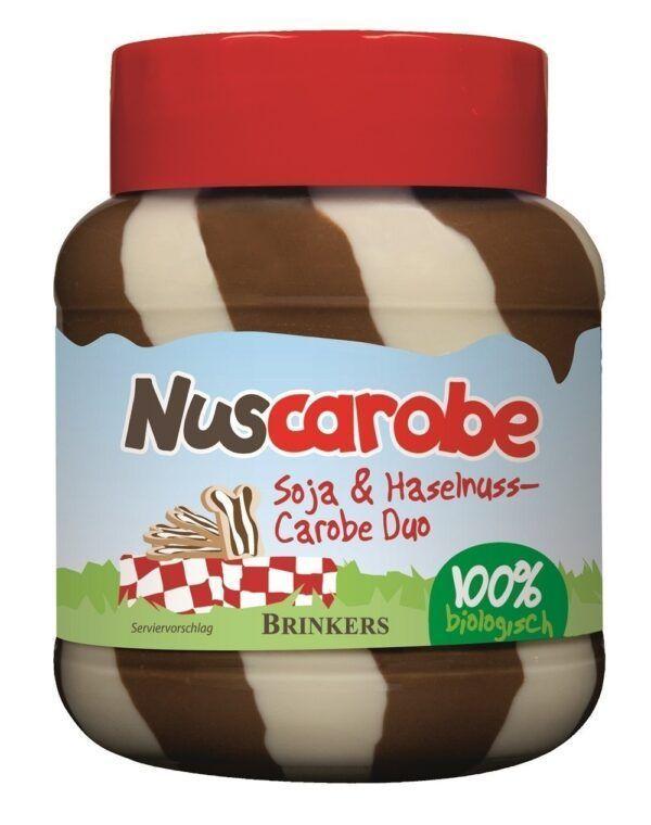 Nuscarobe Bio Soja & Haselnuss Carobe Duo 6x400g