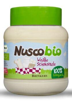 Nuscobio Creme mit weißer Schokolade 6x400g