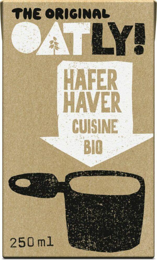 OATLY Bio Hafer Cuisine 18x250ml
