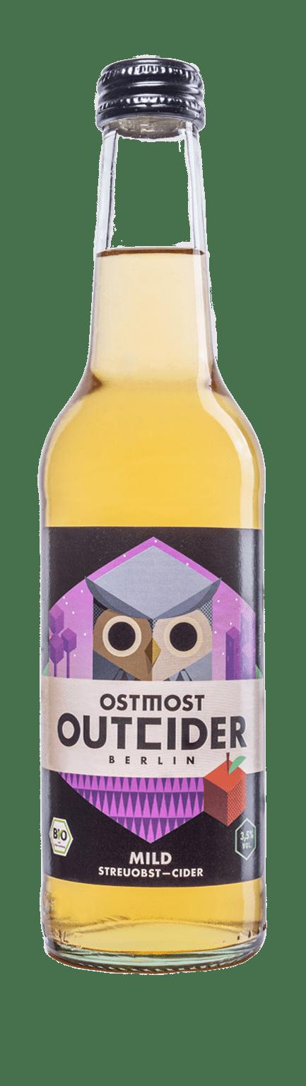 OSTMOST OUTCIDER Bio Streuobst Cider Mild 3,5% 10x330ml