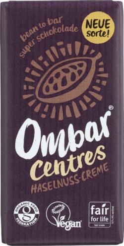 Ombar Centres Haselnuss-Creme 10x35g