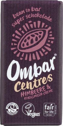 Ombar Centres Himbeere & Kokosmilch-Creme 10x35g