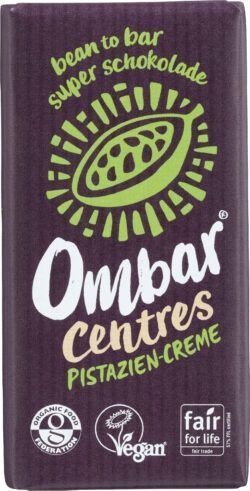 Ombar Centres Pistazie-Creme 10x35g