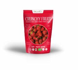 Organica Gefriergetrocknete Bio-Erdbeeren 12x12g