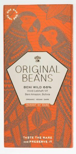Original Beans Beni Wild 66% Dunkelschokolade 13x70g