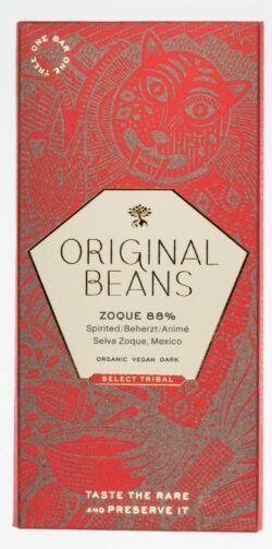 Original Beans Original Zoque 88% Bio Dunkelschokolade 13x70g