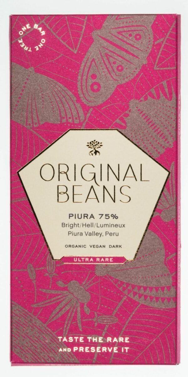 Original Beans Piura 75 % Bio Dunkelschokolade 13x70g