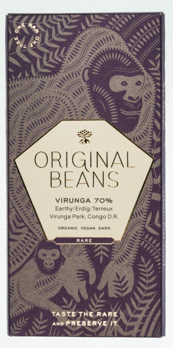 Original Beans Virunga 70% Bio Dunkelschokolade 13x70g