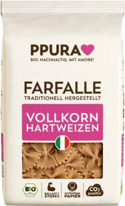 PPURA BIO Farfalle aus ital. Vollkorn-Hartweizen 12x500g