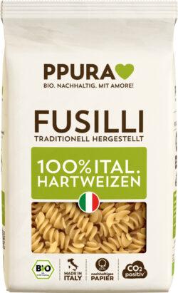 PPURA BIO Fusilli aus ital. Hartweizen 12x500g