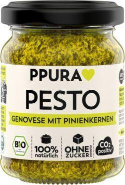 PPURA BIO Pesto Genovese mit Pinienkernen 6x120g